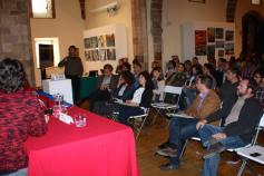 Óscar Prada (Foro de Asturias Sostenible) en el seminario informativo