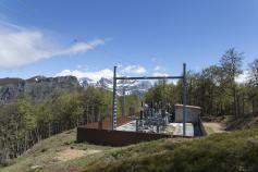 Subestación eléctrica del Puerto de Panderruedas