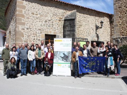 Miembros del comité científico del proyecto LIFE+ Urogallo cantábrico